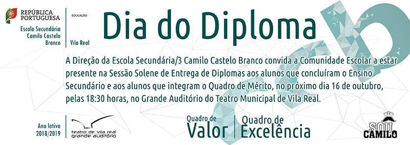 Convite Dia do Diploma