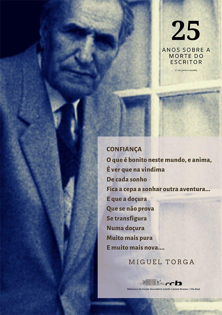 25 anos sobre a Morte do Escritor Miguel Torga