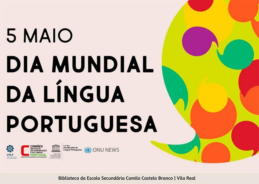 5 de maio – Dia mundial da Língua Portuguesa