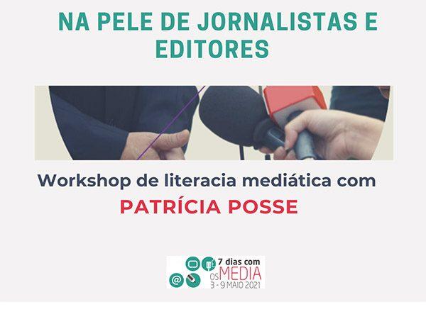 Workshop de literacia mediática com Patrícia Posse