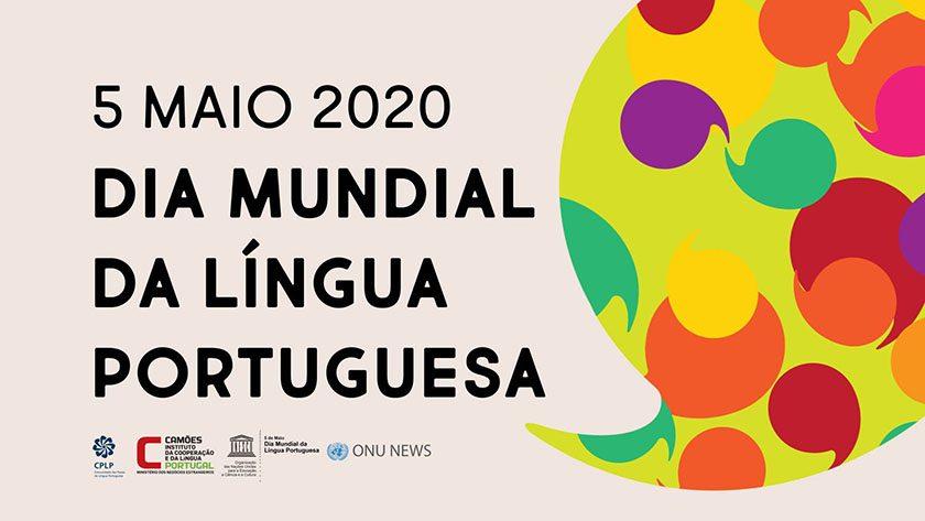 5 de maio 2020   Dia mundial da língua portuguesa