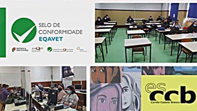 Selo de Conformidade EQAVET atribuído à Camilo